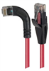 Category 6 LSZH Right Angle Patch Cable, Straight/Right Angle Left, Red, 20.0 ft -- TRD695ZRA6RD-20 -- View Larger Image