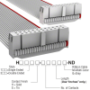 Rectangular Cable Assemblies -- H3DDH-2436G-ND -Image