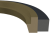 Buffer Ring -- Caterpillar Two Piece Style Buffer Seal -- View Larger Image