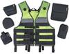 Ergodyne Molle 5590 Lime Universal General Purpose Work Vest - 720476-13961 -- 720476-13961