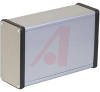Enclosure; Extruded Aluminum; Plastic; 0.06 in.; Clear Anodized -- 70166720