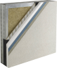 External Wall Insulation Moisture Drainage System -- Outsulation® Plus
