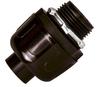 Sealproof Black Nonmetallic Liquid-Tight Straight Conduit Connectors -- 54994