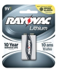 Carded 9V 1-Pack (12 packs/case) Lithium Battery -- R9VL-1 - Image