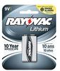 Carded 9V 1-Pack (12 packs/case) Lithium Battery -- R9VL-1 - Image