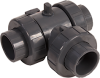 Actuator Ready 3-Way Ball Valves -- HCLA Series - Image