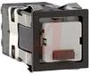 Switch, Pushbutton, Momentary, SQUARE, 1 LED, RED, QC/Solder, SPDT, 24V -- 70118534