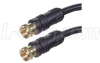 RG6 Coaxial Cable, F Male / Male, 3.0 ft -- CCF6-3