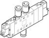 CPE24-M3H-5/3GS-QS-12 Solenoid valve -- 170350-Image