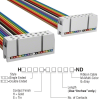 Rectangular Cable Assemblies -- H3AAS-1618M-ND -Image