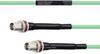 Temperature Conditioned Low Loss TNC Female Bulkhead to TNC Female Bulkhead Cable LL142 Coax in 12 Inch -- FMHR0165-12 -Image