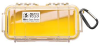 Pelican 1030 Micro Case - Clear with Yellow Liner -- PEL-1030-027-100 -Image