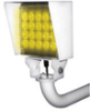 MetaBright™ Long Range Strobe Lights - Narrow Beam -- MB-NLRS605 - Image