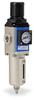 Pneumatic / Compressed Air Filter-Regulator: 1/4 inch NPT female ports -- AFR-2233-MD - Image