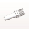 Straight Connector, Barbed, White -- N8S1030 -Image