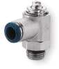 Flow Control Valve,1/4 In Pipe Sz,Brass -- 6MN35