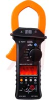 Clamp Meter, Handheld, LCD Display, Orange, 4000-Count -- 70180421
