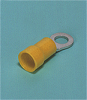 Solderless Terminals -- Ring tongue terminal (R-type, Nylon-insulated) (flared) - Image