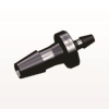 Straight Reducer Connector, Barbed, Black