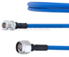 Low PIM N Female to N Male Plenum Cable SPP-250-LLPL Coax in 24 Inch and RoHS -- FMCA1313-24 -Image
