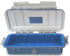 Pelican 1015 Micro Case - Clear with Blue Liner -- PEL-1015-006-100 -Image