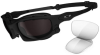 Oakley Wind Jacket Sunglasses with Matte Black Frame and -- OK-OO9142-01