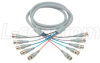 Deluxe RGB Multi-Coaxial Cable, 5 BNC Male / Male, 25.0 ft -- CTL5B-25
