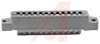 connector,comm card edge,single readout,5/32 dip solder,.156 spacing,22 position -- 70033111 - Image