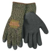 Coated Gloves,S,Camouflage,PR -- 6PPY8