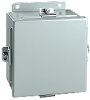 10 x 8 x 4 inch (HxWxD) NEMA 4 JIC Enclosure, lift-off cover, ... -- BN4100804 - Image