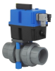 3-Way Plastic On/Off Electric Valve Actuator -- TEBVC -- View Larger Image