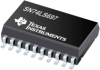 SN74LS697 Synchronous 4-Bit Up/Down Binary Counters With Output Registers And Multiplexed 3-State Outputs -- SN74LS697DW