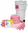 PIG HazMat Spill Kit in 50-Gallon Wheeled Overpack Salvage Drum -- KIT365
