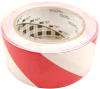 3M 767 Hazard Warning Tape Red-White 2 in x 36 yd Roll -- 767 2IN X 36YDS -Image