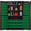 """Heavy-Duty All-Welded Storage Cabinets - 48"""" Wide - QSC-48S - Image"""