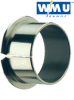 Wrapped PTFE Lined Flanged Bearings -- Metric Bearings