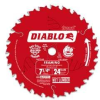 FREUD Diablo 7-1/4 X 24T Framing Blade -- Model# D0724A
