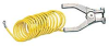 Vinyl-Coated Coiled Grounding Clamps -- 7437600