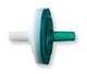 Check Valve; Radiation Grade; Male Luer Slip White Inlet to Male Luer Slip Green Outlet; High Flow -- 91040 - Image