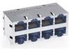Modular Connectors / Ethernet Connectors -- 0811-2X4R-28-F - Image