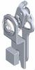 Quarter Turn Hook Lever Lock, Slam Cam -- 1000 - Image