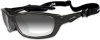 Wiley-X Brick Sunglasses with Light Adjusting Lens and -- WX-856