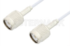 TNC Male to TNC Male Cable 24 Inch Length Using RG188 Coax, RoHS -- PE3434LF-24 -Image