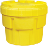 20 Gallon Plastic Drum Labpack W/ Screw Top Lid -- PAK120
