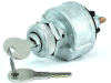 Pollak 31-104 4-Position Ignition Switch, PK-556 Code Keys, Acc-Off-Ign/Acc-Ign/Start -- 44062 - Image