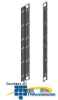 Chatsworth Products Vertical Power Strip Manager -- 34595-C05