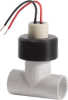Impeller™ 735 Series Plastic Tee Type Impeller Flow Sensor -- Sensor 3/4