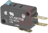 Switch, Basic, Miniature, 100 mA @ 125VAC, Pin Plunger, SPDT Circuitry -- 70120158