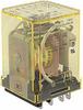 Relay;E-Mech;Power;DPDT;Cur-Rtg 10A;Ctrl-V 120AC;Pnl-Mnt;Blade -- 70174884