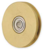 Pulley,One Groove,Bore 0.3750 In -- 1ZGY2